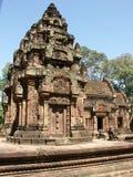 Temple de Banteay Srei Photo libre de droits