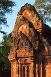 Temple de Banteay Srei image libre de droits