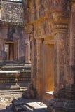 Temple de Banteay Srei Image stock