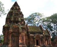 Temple de Banteay Srei. Angkor. Siem Reap. Le Cambodge Photographie stock