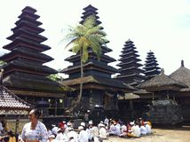 Temple de Batumadeg Images stock
