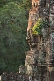 Temple de Bayon à Angkor Thom images stock