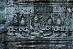 Temple de Bayon à Angkor Thom photos libres de droits