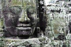 Temple de Bayon Photographie stock