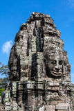 Temple de Bayon, Anghor Photographie stock libre de droits