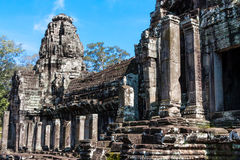 Temple de Bayon, Anghor Images stock