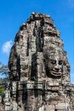 Temple de Bayon, Anghor Photos libres de droits
