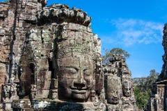 Temple de Bayon, Anghor Images libres de droits