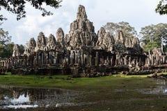 Temple de Bayon, Anghor Image stock