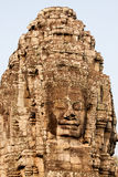 Temple de Bayon, Cambodge photographie stock