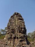 Temple de Bayon, Cambodge Images libres de droits