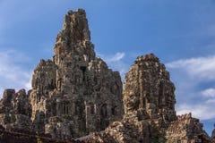 Temple de Bayon chez Angkor Vat, Image stock