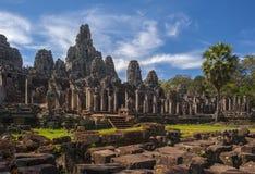 Temple de Bayon chez Angkor Vat, Photo stock