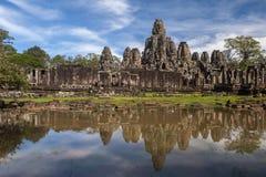 Temple de Bayon chez Angkor Vat, Photos stock