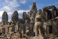 Temple de Bayon chez Angkor Vat, Images libres de droits