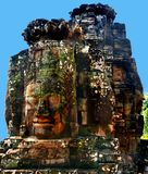 Temple de Bayon dans Angkor, Cambodge Photo stock