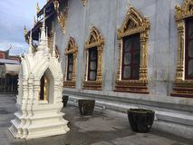 Temple de Bells, Bangkok image stock