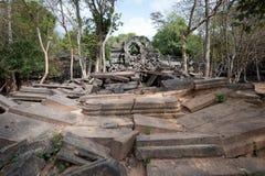 Temple de Beng Mealea Image stock