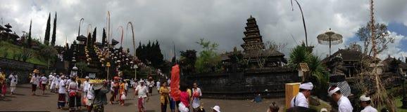 Temple de Besakiah dans Bali Images libres de droits