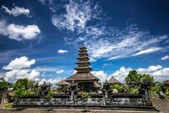 Temple de Besakih dans Bali oriental images libres de droits