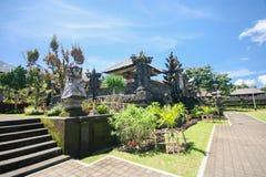 Temple de Besakih dans Bali oriental image libre de droits