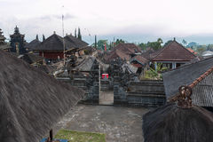 Temple de besakih de Pura Photo stock
