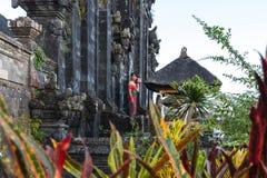 Temple de besakih de Pura Photographie stock