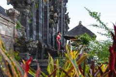 Temple de besakih de Pura Images stock
