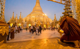 Temple 4 de Birmania Photographie stock