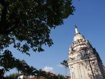 Temple de blanc de grandeur photo stock