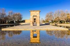 Temple de bod ,Madrid Spain Royalty Free Stock Photo