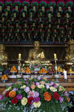 Temple de Bomunsa, île de Jeju, Corée du Sud Image stock
