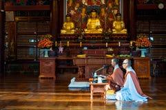 Temple de Bongeunsa Photographie stock libre de droits