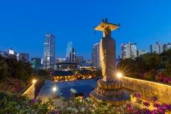 Temple de Bongeunsa au secteur Séoul Corée du Sud de Gangnam photographie stock