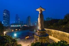 Temple de Bongeunsa dans le district de Gangnam de Séoul, Corée Images stock