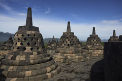 Temple de Borobodur Photo libre de droits