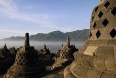 Temple de Borobudur à Yogyakarta Image libre de droits