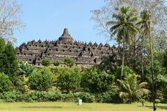 Temple de Borobudur à Yogyakarta, Java, Indonésie Photographie stock libre de droits