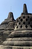 Temple de Borobudur à Yogyakarta, Java, Indonésie Photo libre de droits