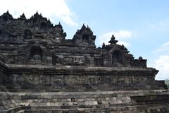 Temple de Borobudur photos libres de droits