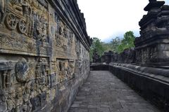 Temple de Borobudur photographie stock