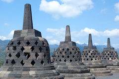 Temple de Borobudur Photographie stock