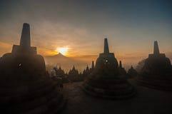 Temple de Borobudur Image stock