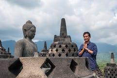 Temple de Borobudur Images stock