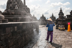 Temple de Borobudur Photos stock