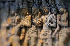 Temple de Borobudur découpant des arts photos stock