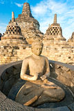 Temple de Borobudur, Yogyakarta, Java, Indonésie. Images stock