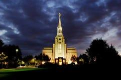 Temple de Boston le Massachusetts Photographie stock libre de droits