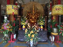 Temple de Bouddha au Vietnam, Nha Trang image libre de droits