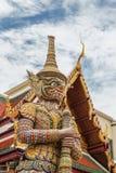 Temple de Bouddha de géant Images libres de droits